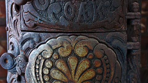 "Vintage Antique ""Cheerful Oak"" Stove"