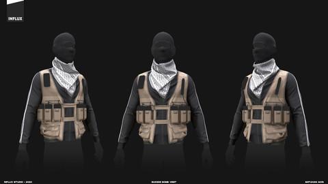 Marvelous Designer Suicide Bomb Vest