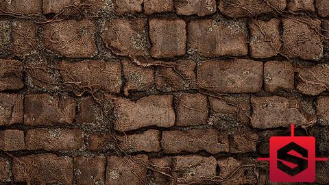 Creepy medieval bricks