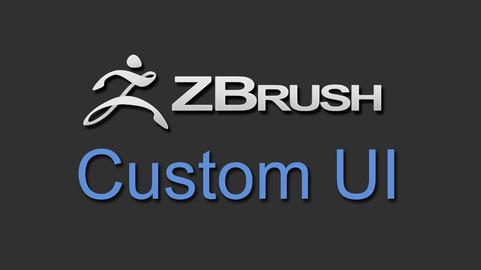 Zbrush Custom UI