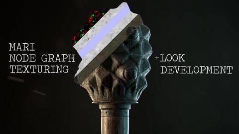 Mari Nodegraph PBR Texturing + Look Development