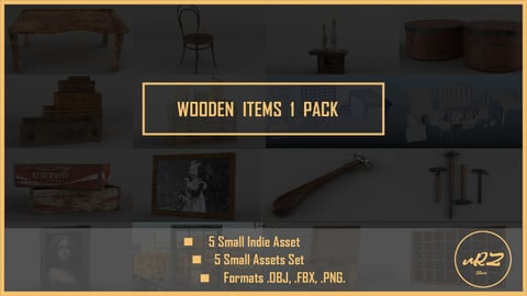 Wooden Item 1 PACK