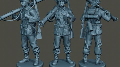 German soldier ww2 Stand up G4