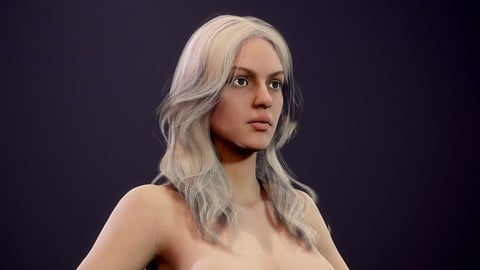 Realtime Realistic Female Character