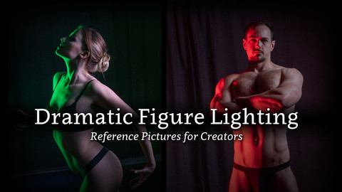 Dramatic Figure Lighting - Reference Pictures for Creators