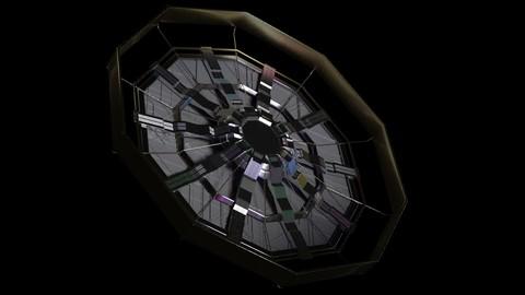Sci-Fi Satellite Dish