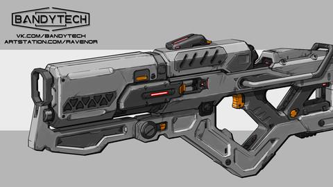 Plasma gun concept