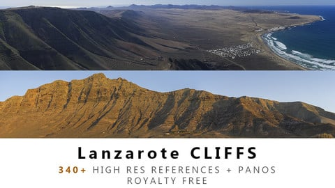 Lanzarote CLIFF Texture PACK