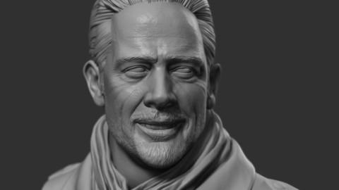 Negan - The Walking Dead Head Bust