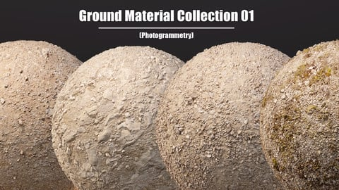 Photogrammetry Ground Material  - Collection01
