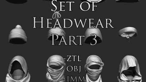 Set of Headwear Part 3