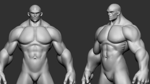 basemesh BIG cartoon Highpoly