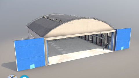 Airport Hangar1 UEEE