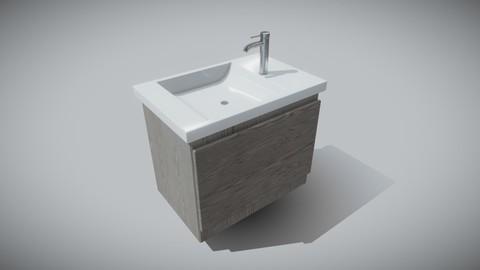 Bathroom cabinet (Sink)