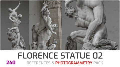 Florence Statues #2 Photogrammetry image pack