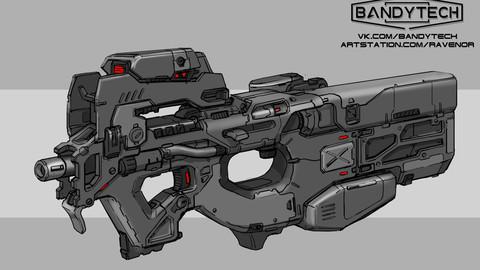 Futuristic P90 +Variants