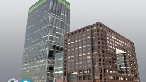 London 25Bank Street JPMorgan Skyscraper