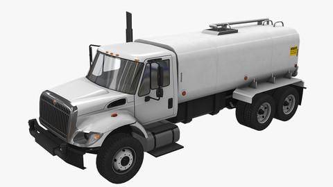 Tanker Truck International 7400