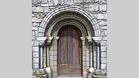 Portal of Roman Chirch