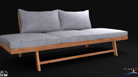 Patio Furniture 3 Seater