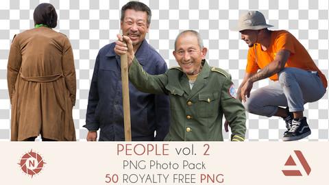 PNG Photo Pack: People volume 2