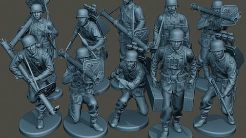 German soldiers ww2 G4 Pack1