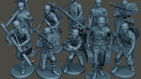 German soldiers ww2 G4 Pack1
