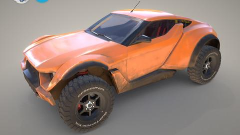 Zarooq Sand Racer Car
