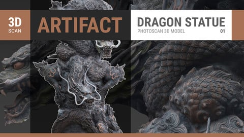 Dragon Statue 3D SCAN