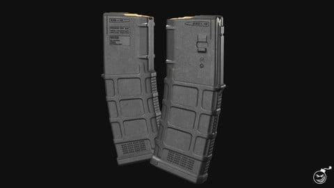AR/M4 - Magpul Pmag