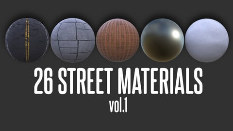 26 Street Materials, vol.1