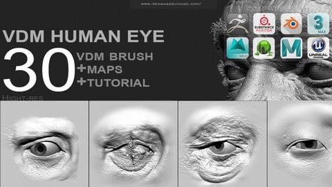 VDM - FULL HUMAN EYE PACK [30+MAPS]