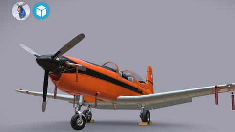 Pilatus PC-7 Mk-I SAFOrange