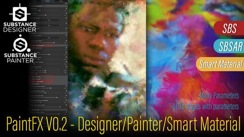 PaintFX - Paint Simulation (SmartMaterial) and Substance Designer