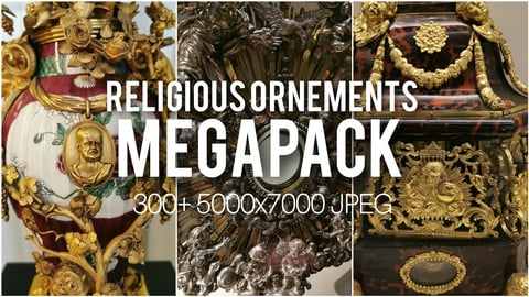Religious Ornements References MEGAPACK