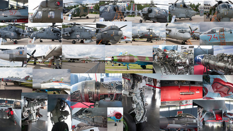 Russian Army Expo 2017. Fight aircraft.