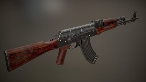 The AK-47 Assault Rifle(PBR)
