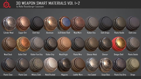 30 Weapon Smart Materials Vol. 1+2