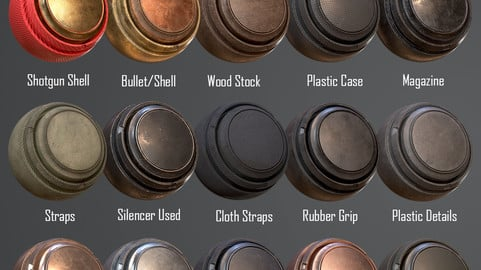 15 Weapon Smart Materials Vol. 1