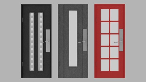 Door Project (Modern Style) 2nd Part