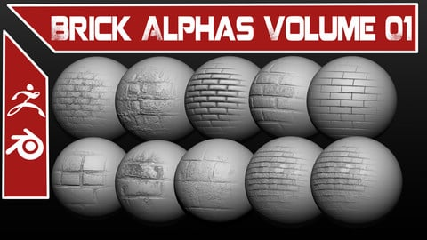 Brick Alpha Pack Volume 01