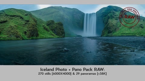 Iceland Photo & Pano Pack with RAW