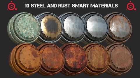 10 Steel and Rust smart materials