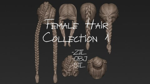 Female Hair Collection 1