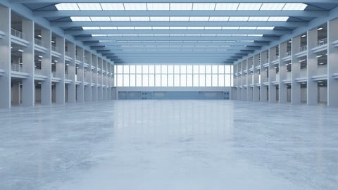 Industrial Hall Interior 1