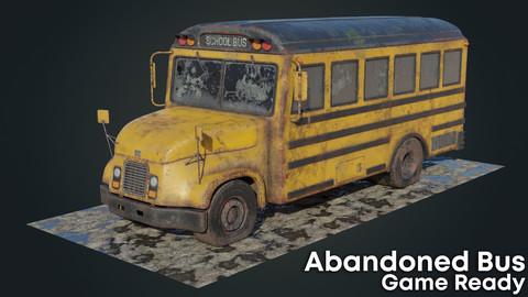 Old Rust School Bus