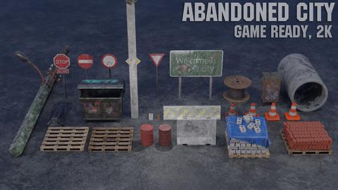 Abandoned city (post-apocalypse)