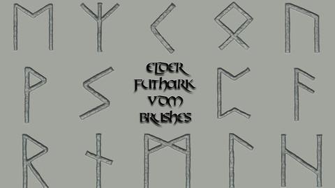 Elder Futhark VDM Brushes