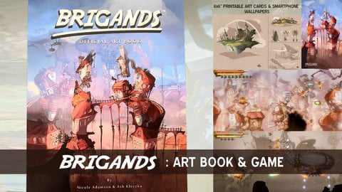 Brigands Art Book & Game Bundle