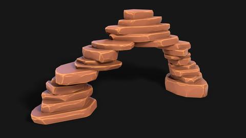 Stylized Desert Rocks